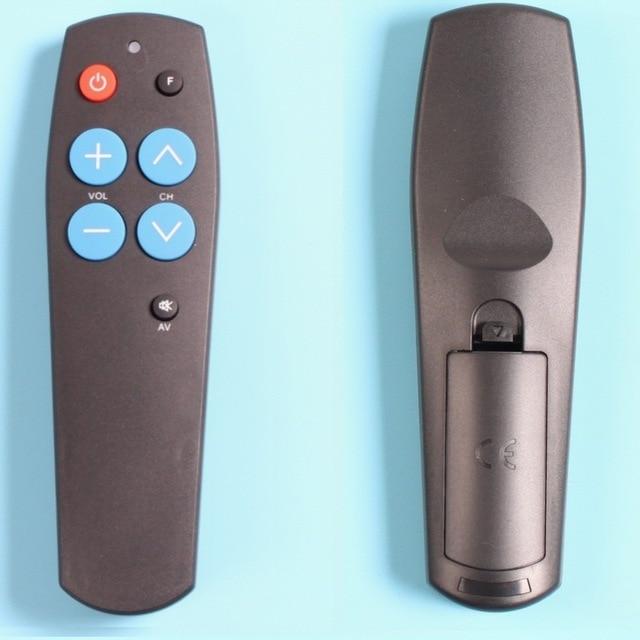 เรียนรู้รีโมทคอนโทรลสำหรับTV DVD ReceiverลำโพงทีวีVCR DVB , HIFI Audio Video Player,universal Controllerด้วยปุ่ม7ปุ่ม