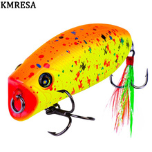 1PCS mini popper lure 5.7CM 10G  lures trout ultralight fishing lure topwater bait finesse Crankbait Wobbler Minnow  Isca Poper