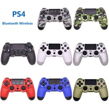 2019 New For Sony PS4 Bluetooth Wireless Controller For PlayStation 4 Wireless Dual Shock Vibration Joystick Gamepads