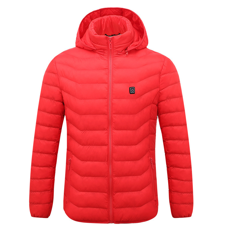 Electric Heated Jacket Women Winter USB Heating Women's Jacket Winter Solid Parka Winter Coat Women Manteau Femme Hiver 2018