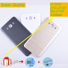 For Samsung Galaxy J7 2016 J710 SM J710F J710FN J710M J710H J710A Housing Battery Cover Back Cover Case Rear Door Chassis Shell samsung sm j710fn galaxy j7