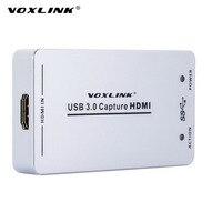 VOXLINK XI100D UVC USB3 0 1080P 60FPS HDMI Capture Dongle USB2 0 HDMI Video Capture Card
