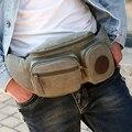Sacos de homens Da Cintura Saco de pesca Pacote de Quadril pochete Fanny Pacote de viagem pacote de cintura do exército grande Equipamento De Pesca Frete grátis