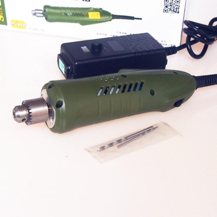 slite 24-36v Mini Elektripuur Mikropuur P-500-12 ehete töötlemine / - Puur - Foto 2