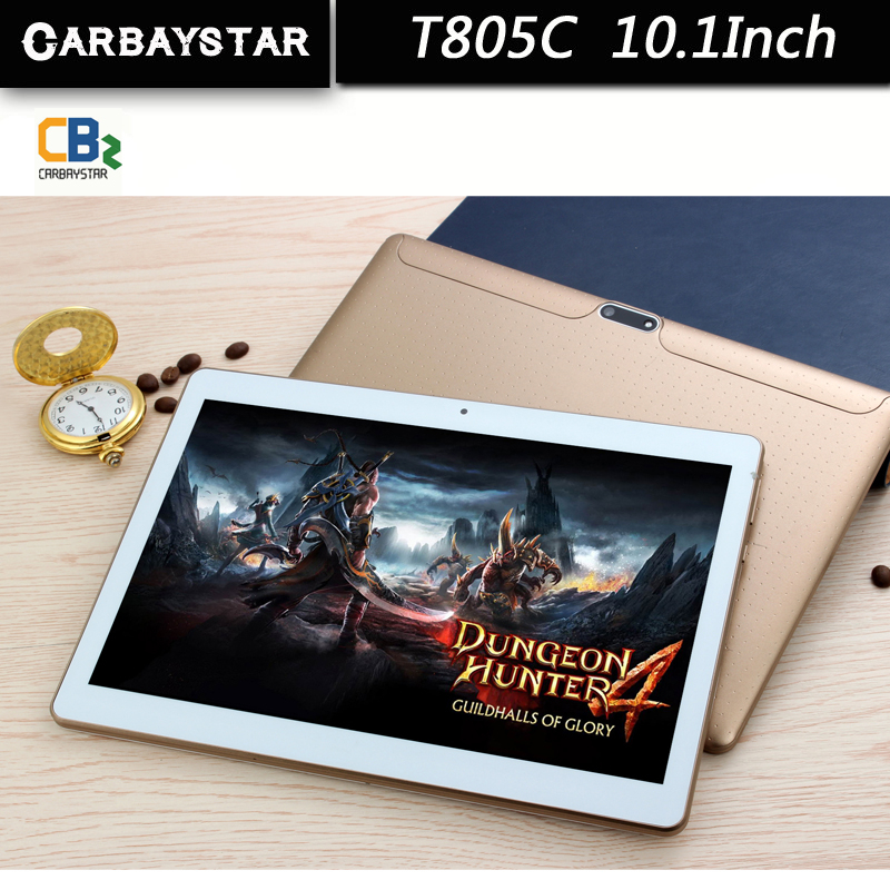 CARBAYSTAR T805C tablet 10 1 inch Octa Core Smart android tablet pc 5MP 1280 800 IPS
