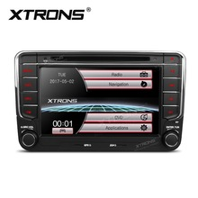 XTRONS 7 inch 2 Din Radio Car DVD Player GPS Navigation for Volkswagen vw Beetle Bora Jetta Caddy Jetta V Polo MK5 T5/Seat/Skoda