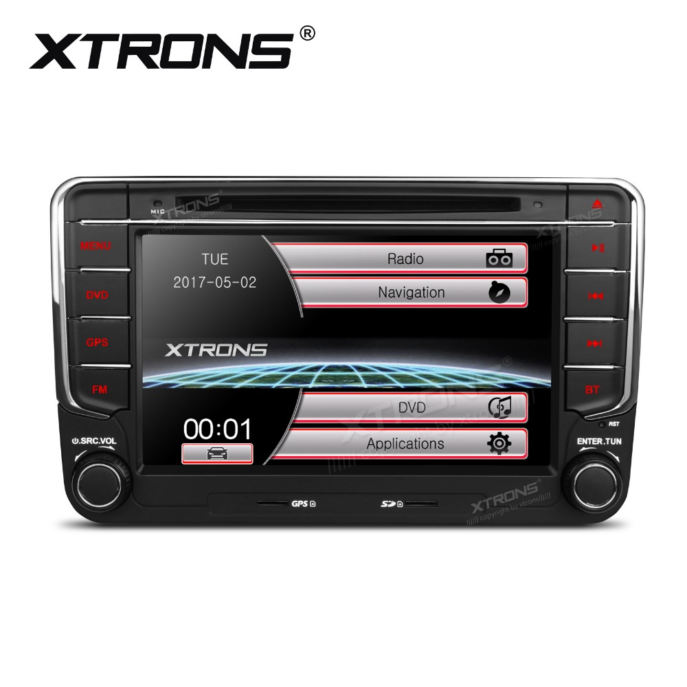 xtrons 7 inch 2 din radio car dvd player gps navigation for volkswagen vw beetle bora jetta. Black Bedroom Furniture Sets. Home Design Ideas