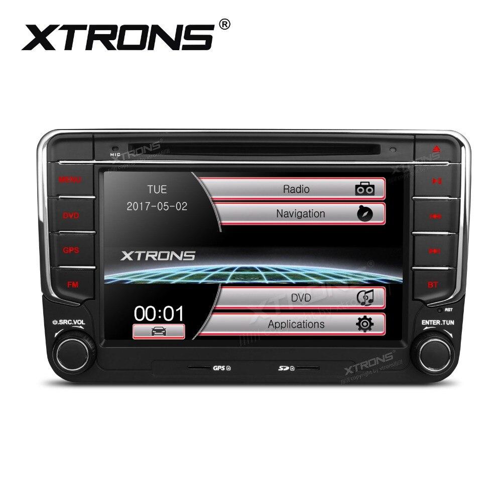 imágenes para XTRONS 7 pulgadas 2 Din Radio de Coche Reproductor de DVD de Navegación GPS para Volkswagen Escarabajo de vw Jetta Bora Caddy Jetta V Polo MK5 T5/Seat/Skoda