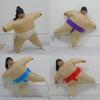 5 Colors Inflatable Sumo Cosplay Costume For Kids Halloween Girls And Boys Fashion Performance