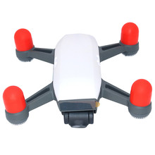 4 шт. силиконовая крышка двигателя Защитный чехол Кепки гвардии для DJI SPARK Drone Прямая поставка 0626