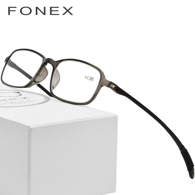 0eefbc3b656 TR90 Reading Glasses Frame Old Men Eyeglasses Women New Hyperopia  Ultralight Gift for father +1.50 +2.00 +2.50 +3.00 lh235