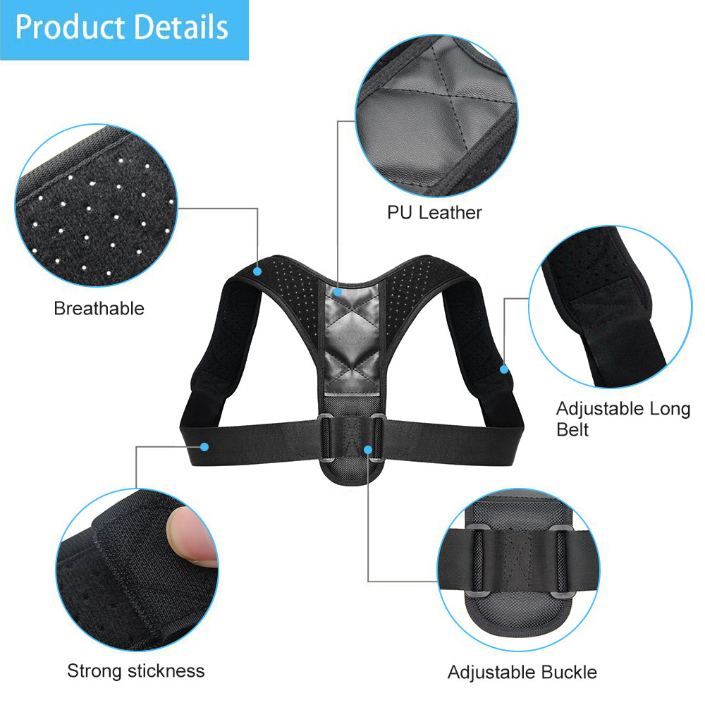 HTB1ef.BcBKw3KVjSZFOq6yrDVXa9 Medical Clavicle Posture Corrector Adult Children Back Support Belt Corset Orthopedic Brace Shoulder Correct