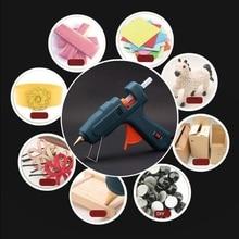 5 шт. термоклеевая палочка Красочные 7x100 мм Клей для рукоделия инструмент для ремонта игрушек