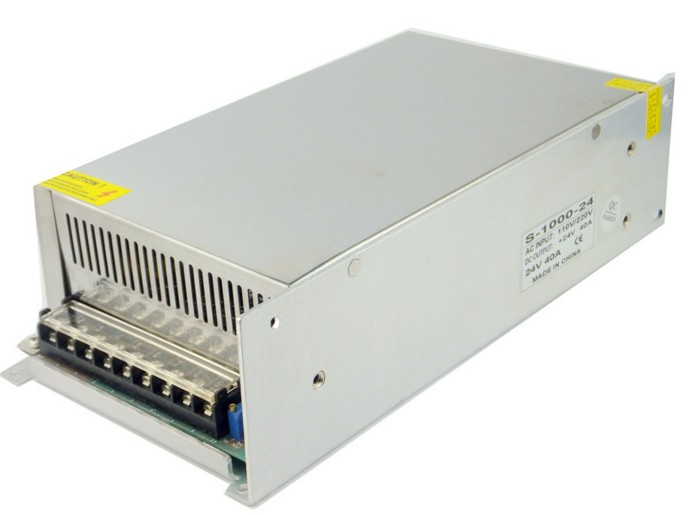 High power switching power supply 1000W24V1000W switching power supply factory direct LED power supply 20v 1 2a power module 220v to 20v acdc direct switching power supply isolation can be customized