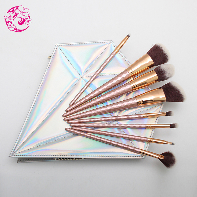 ENERGY Brand Professional SyntheticHair Makeup brush set with diamond bag Maquillage Brochas Maquillaje Pincel S105S