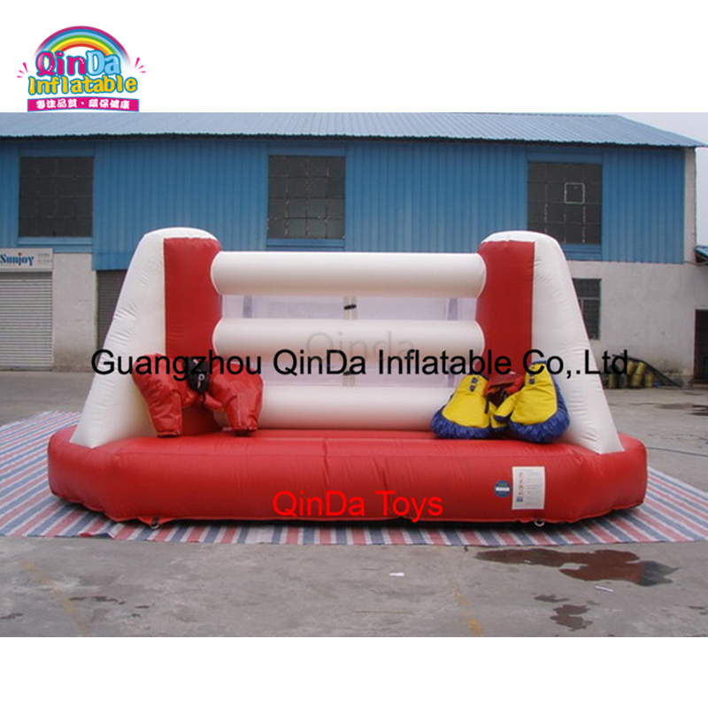 Factory direct sale inflatable boxing ring indoor playgrond inflatable wrestling ring for kids