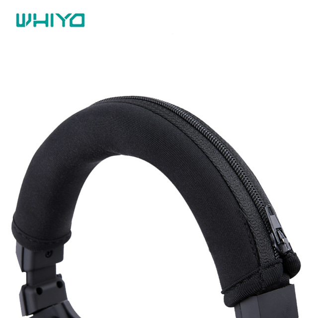 Whiyo 1 pcs of Bumper Head Pads for <font><b>Sony</b></font> <font><b>MDR</b></font>-<font><b>100ABN</b></font> <font><b>100abn</b></font> WH-H900N H900N Headset Headbands Cushion Pads image