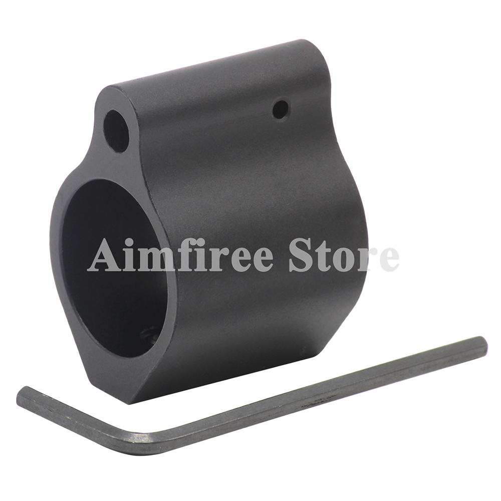 AR15 M4 Gas Block Low Profile .750 223 Micro Rifle Gas Block With Roll Pin And Wrench Tool