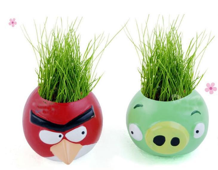 aliexpress : buy beautifying office bonsai grass pots planters