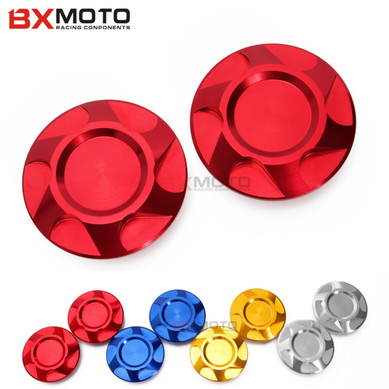 BXMOTO Pair Motorcycle accessories CNC Aluminum Frame Hole Cover Caps protector For Yamaha YZF R3 R25 2013 2014 2015 YZF-R3