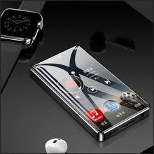 Ruizu d20 металлический MP4-плеер Встроенные динамики 3,0 дюймов сенсорный экран ультра тонкий 8 ГБ MP3 музыкальный плеер воспроизведение видео с FM электронной книгой