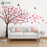 Modern Home Decor Big Nursery Tree Pattern Vinyl Wall Stickers For Kids Room Livingroom Wall Decor Interior Playroom Mural SY143