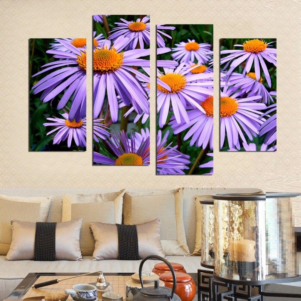 Frameless Canvas Art Oil Painting Flower Painting Design: Aliexpress.com : Buy CHENISTORY Frameless Chrysanthemum