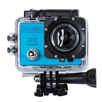 "100% Original Goodpa Sport Action Camera go style pro 4 Ultra HD 4K wifi 60FPS DVR 16MP 2.0""LCD waterproof 30M Action Camera 1"