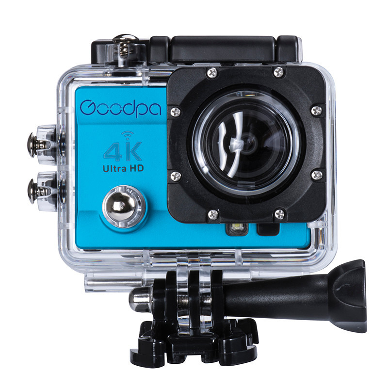 100% D'origine Goodpa Sport caméra d'action aller style pro 4 Ultra HD 4 K wifi 60FPS DVR 16MP 2.0