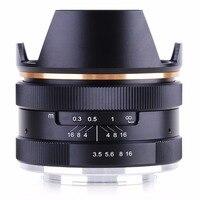 Objectif à mise au point manuelle Kaxinda 14mm F3.5 APS C pour objectif à monture EF M Canon EOS M M2 M3 appareil photo|Objectifs pour appareil photo| |  -