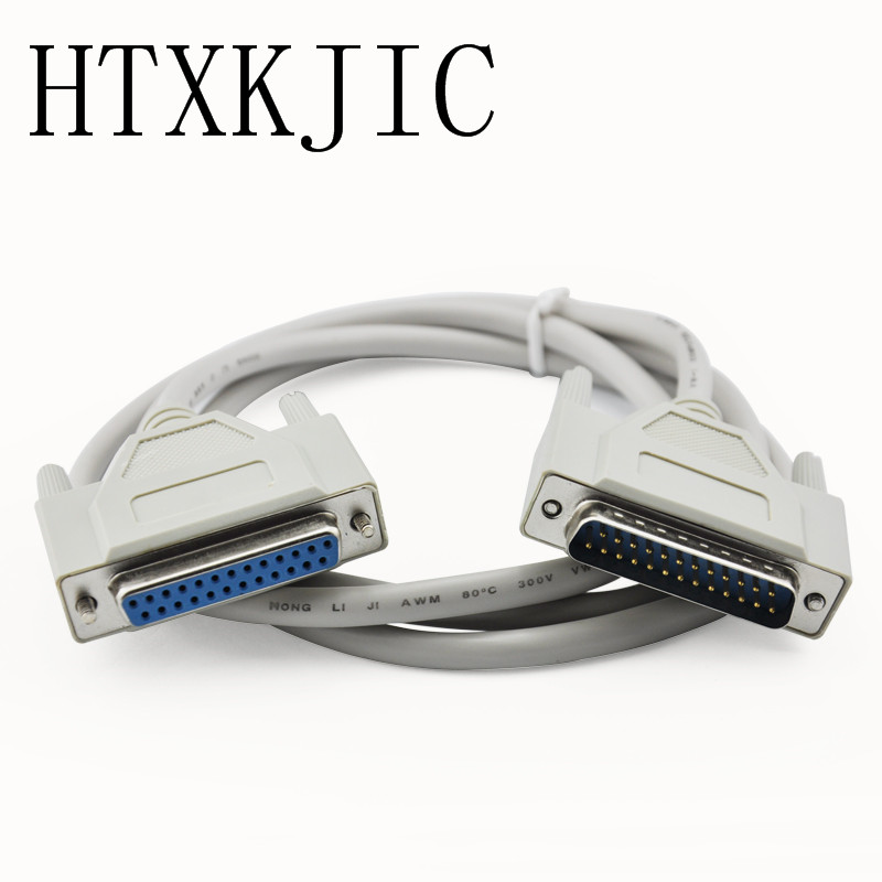 3 Mt 10ft DB25 25Pin Männlich zu Weiblich M/F Parallel LPT Kabel 1,5 mt 5FT DB25 zu DB25 kabel Für Laserdrucker DB 25 Parallel Kabel