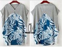 2015 yaz T-shirt kadın gevşek yarasa kol Pamuk büyük boy kadın tops