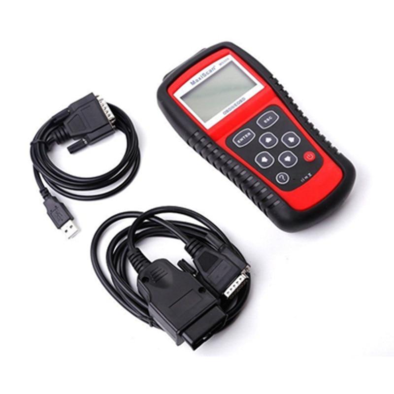 Image 5 - 5 шт./лот MS509 OBDII/EOBD OBD2 автоматический считыватель кодов работает для США и Азии и Европы Автомобильный сканер Поддержка Многоязычная Лучшая цена on