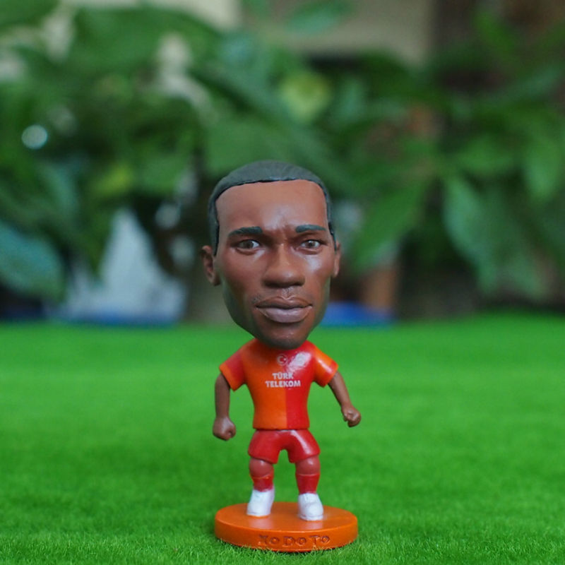 Football star Soccer Star 11# DROGBA (GAL-Classic) 2.5 Action Dolls Figurine