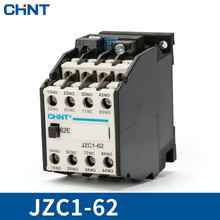 CHINT Contact Type Relay JZC1-62 220V 380V 110V 24v Communication Contactor