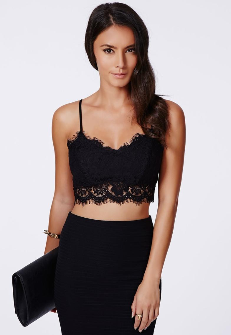 ef2800ea07 HOT lace bralet brandy melville lace bralette sexy crop top women tops tank  Camisoles cropped regata feminina tanks camisole-in Camisoles   Tanks from  ...