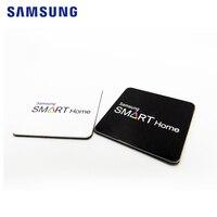 2 pces etiqueta chave para samsung ezon keyless fechadura da porta digital tipo etiqueta mini cartão|card card|card door lock|card lock -