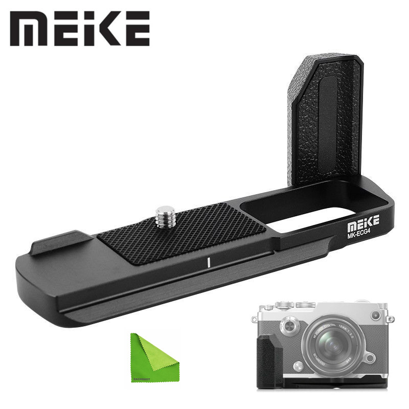 Meike MK-ECG4 Metal Hand Grip for Olympus Pen-F Wireless Camera(ECG-4) Used To tripod Equipped With Standard 1/4 screw holesMeike MK-ECG4 Metal Hand Grip for Olympus Pen-F Wireless Camera(ECG-4) Used To tripod Equipped With Standard 1/4 screw holes