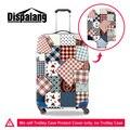 Dispalang moda bagagem mala trolley caso capa protetora s/m/l 3 tamanho para 18 20 22 26 28 30 polegada casos de viagens por atacado