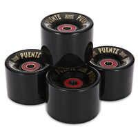 4 pièces/ensemble 60x45 MM Cruiser roulettes roues Longboard roue patin rouleau Durable PU Longboard Cruiser roues avec roulement à ABEC-9