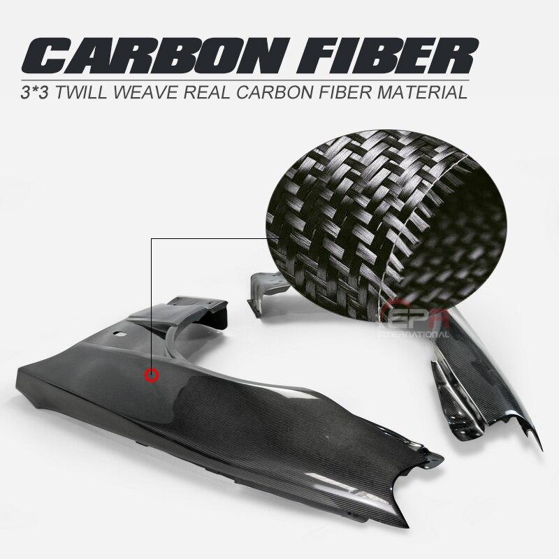 For Nissan Skyline R34 GTR BNR34 BV2 Style Carbon Fiber Front Vented Fender Glossy Finish Wheel Flare Arch Cover Drift Body Kit