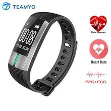 Teamyo G20 спортивные Фитнес трекер SmartBand Смарт-фитнес часы-браслет сердечного ритма Мониторы OLED Touchpad сна Мониторы