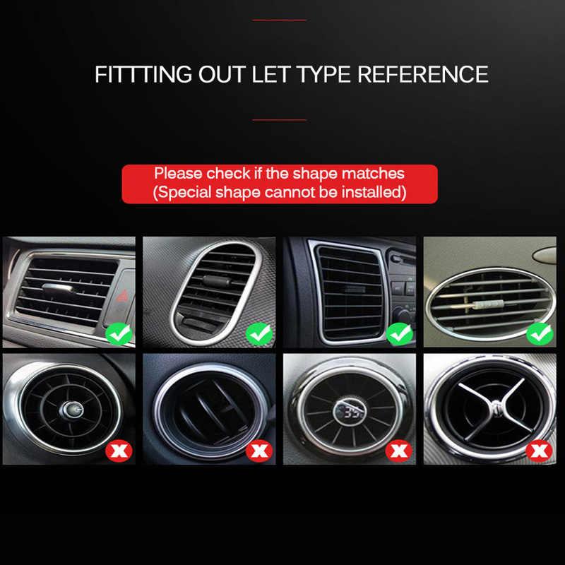 U 形状カーベントグリル出口ブレードの装飾ストリップメルセデスベンツ W202 W220 W204 W210 W124 W222 x204 AMG CLK