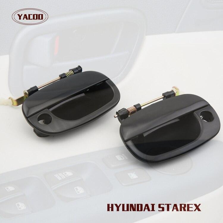 1PAIR FRONT EXTERIOR DOOR HANDLE FOR HYUNDAI STAREX 1998 2006-in ...
