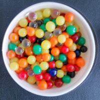 Free Shipping MIX 8mm 10mm Spherical Big Crystal Soil Water Beads Mud Grow Up Magic Jelly