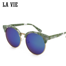 La vie cat eye sunglasses mujeres 5 colores de moda las mujeres gafas de sol UV400 Gafas De Sol gafas de sol mujer gafas de sol feminino