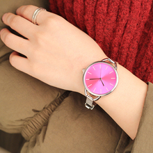 2018 CMK Luxury European Style Ladies Watches Stainless Steel Elegant Big Dial Women Watch Casual Dress Female wristwatch clock