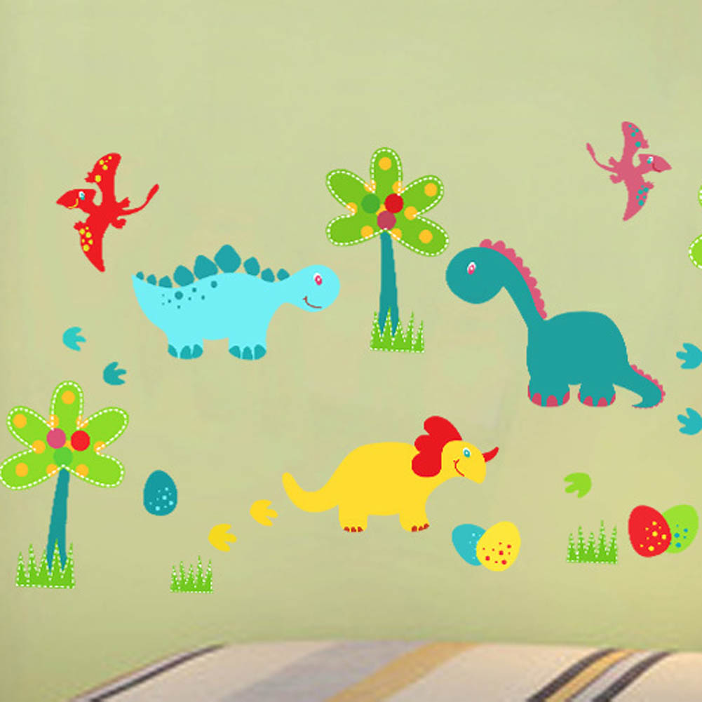 Fine Dinosaur Wall Art For Kids Sketch - Wall Art Collections ...