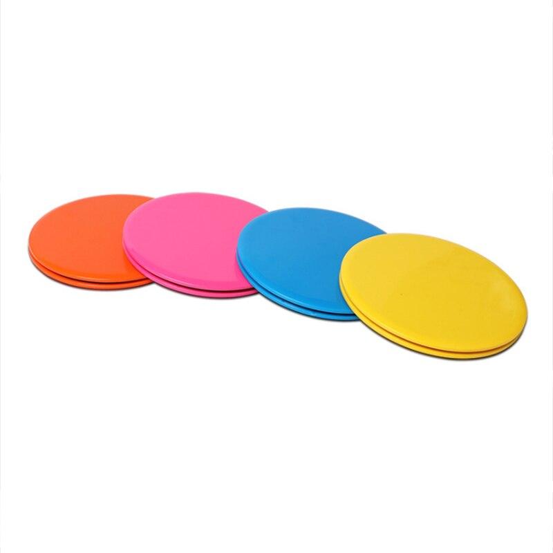 Aktiv Dual Seitige Gleiten Discs Core Sliders Übung Schiebe Workout Festigkeit Teppich