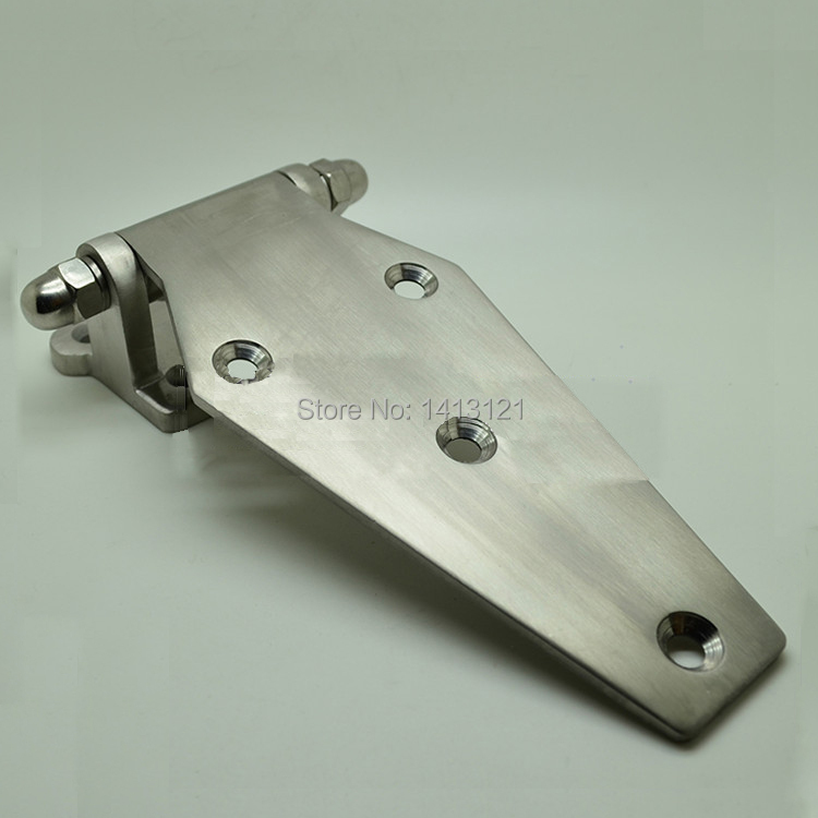 Flat style Stainless steel cold storage door hinge cookware oven fitting refrigerator hinge steamer door industrial hinge stainless steel cold storage door hinge cookware oven hinge refrigerator hinge steamer door industrial flat right angle hinge